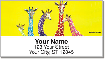 Nilles Safari Address Labels