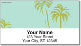 Tropical Nature Address Labels