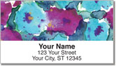 Bold Floral Address Labels