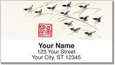 Hints of Asia Address Labels