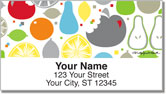 Howell Fruit Slice Address Labels