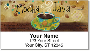 Zipkin Coffee Address Labels