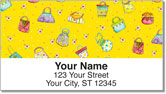 Zipkin Fashion Address Labels