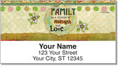 Friends and Family Address Labels