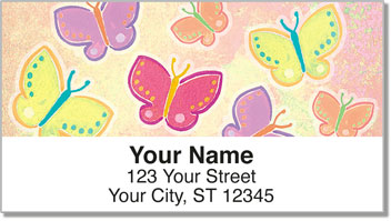 Colombo Butterfly Address Labels