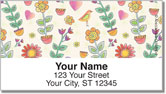 Garden Show Address Labels