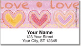 Love Love Address Labels