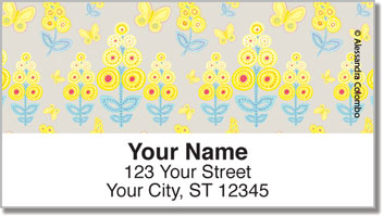 Mimosa Address Labels