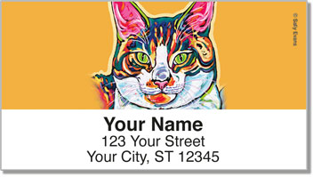 Evans Cat Address Labels
