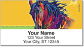Evans Horse Address Labels