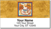 Artsy Coffee Address Labels