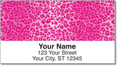 Leopard Address Labels
