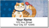 Fat Cat Address Labels
