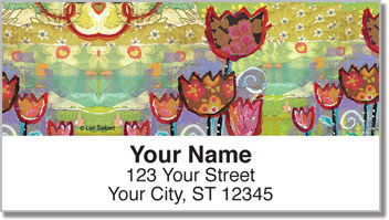Happy Go Lucky Address Labels