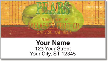 Farm Fresh Address Labels
