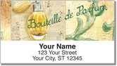 Isabella Parfum Address Labels