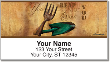 Knold Garden Address Labels