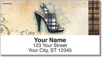 Knold Shoes Address Labels