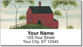 Kimble Barn Address Labels
