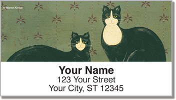 Kimble Cat Address Labels