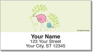 Bird Garden Address Labels