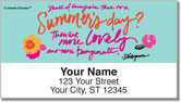 Summer's Day Address Labels