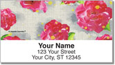 Tea Rose Address Labels