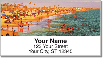 Los Angeles Address Labels