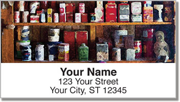 Bulone Vintage Address Labels