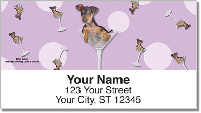 Cosmopawlitan Address Labels