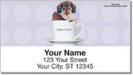 Pups in Cups Address Labels