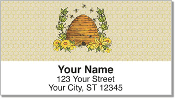 Queen Bee Address Labels