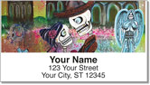 Day of the Dead Skull Address Labels