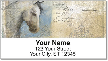 Winget Horse Address Labels