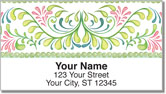 Mariposa Floral Address Labels