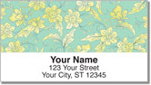 Narcissus Blooming Address Labels