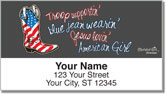 All American Girl Address Labels