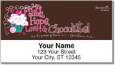 Faithful Girl Address Labels