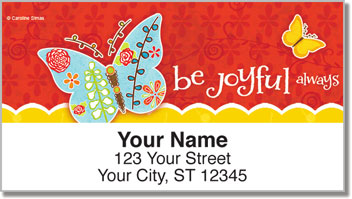 Be Joyful Address Labels