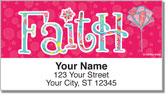 Joyful Floral Address Labels