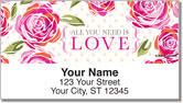 Roses for Taylor Address Labels