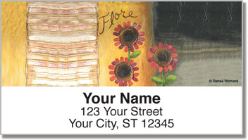 Womack Bloom Address Labels