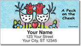 Womack Chicken Address Labels