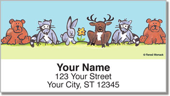 Nature Lover Address Labels