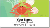 Modern Coastal Address Labels
