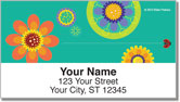 Modern Garden Address Labels