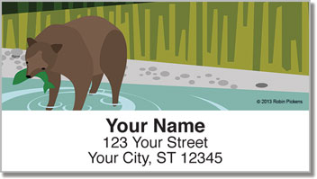 Modern Lodge Address Labels