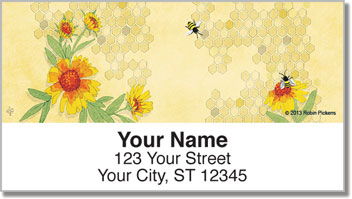 Nature Inspired Address Labels