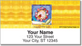 Rawlings Flower Address Labels