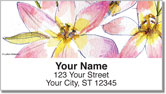 Fruits and Flowers Address Labels
